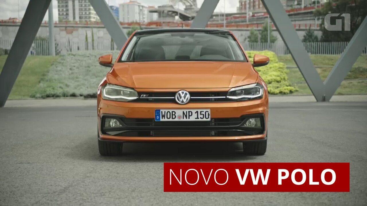 Volkswagen Polo: conheça a 6ª geração mostrada na Europa