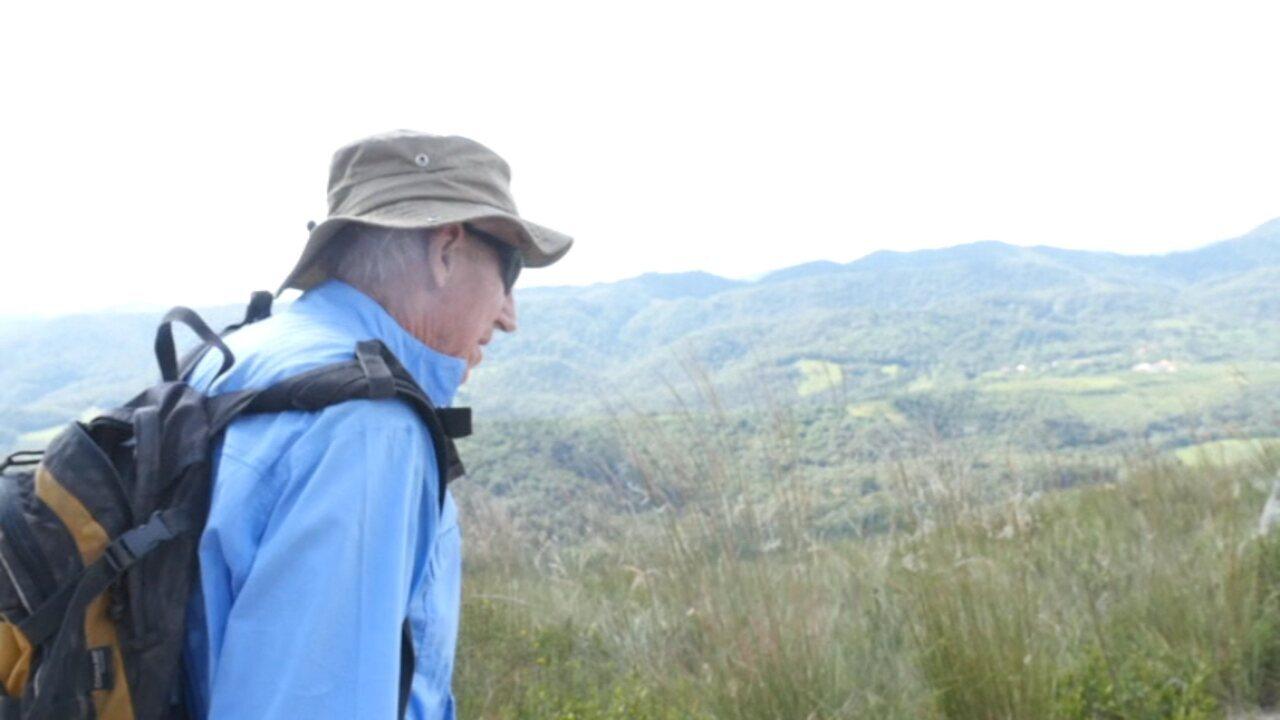 Super 60: conheça o Paulo, um montanhista de 86 anos