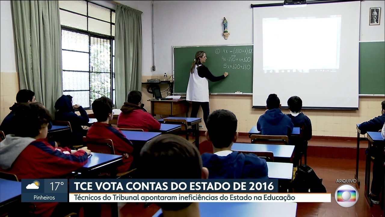 Técnicos do TCE apontaram ineficiência do Estado na Educação