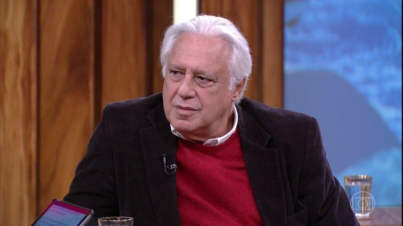 Antonio Fagundes opina sobre política atual e a corrupção