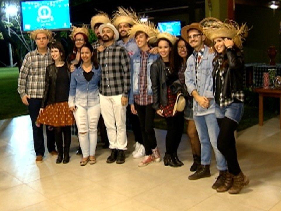TV Fronteira comemora o Dia do Mídia com Festa Junina