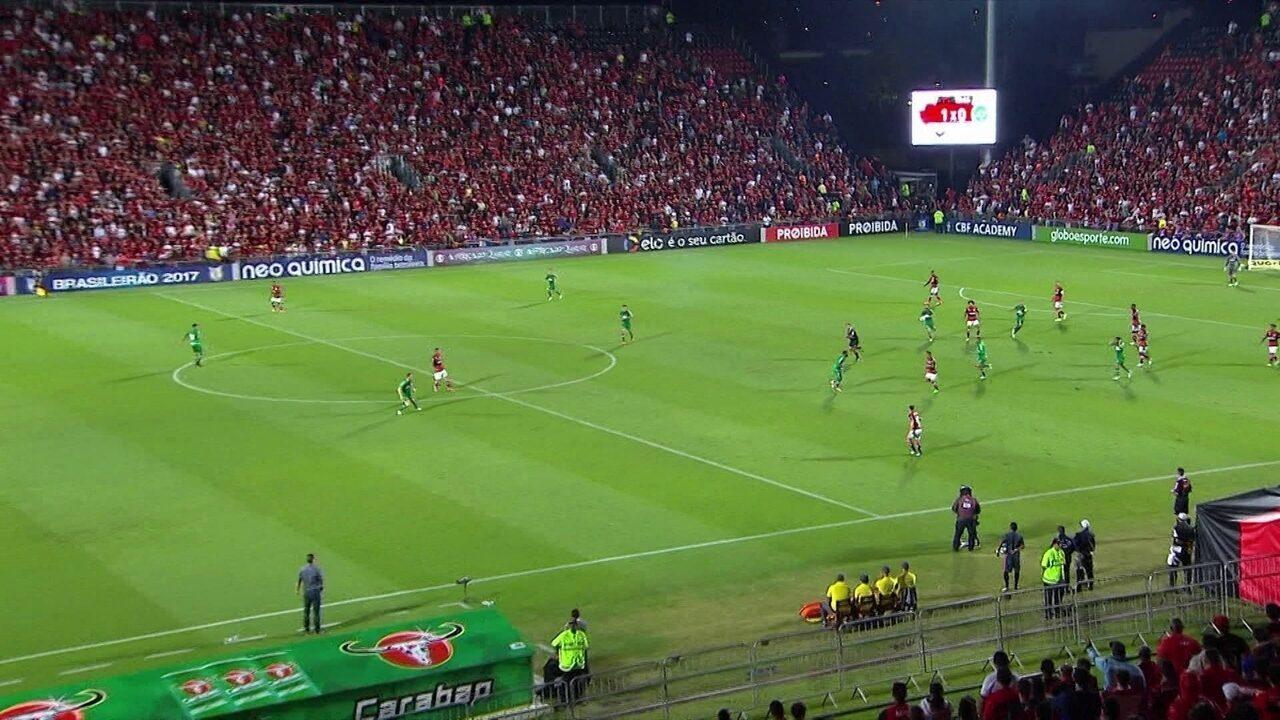Melhores momentos de Flamengo 5 x 1 Chapecoense pela 9ª rodada do Campeonato Brasileiro