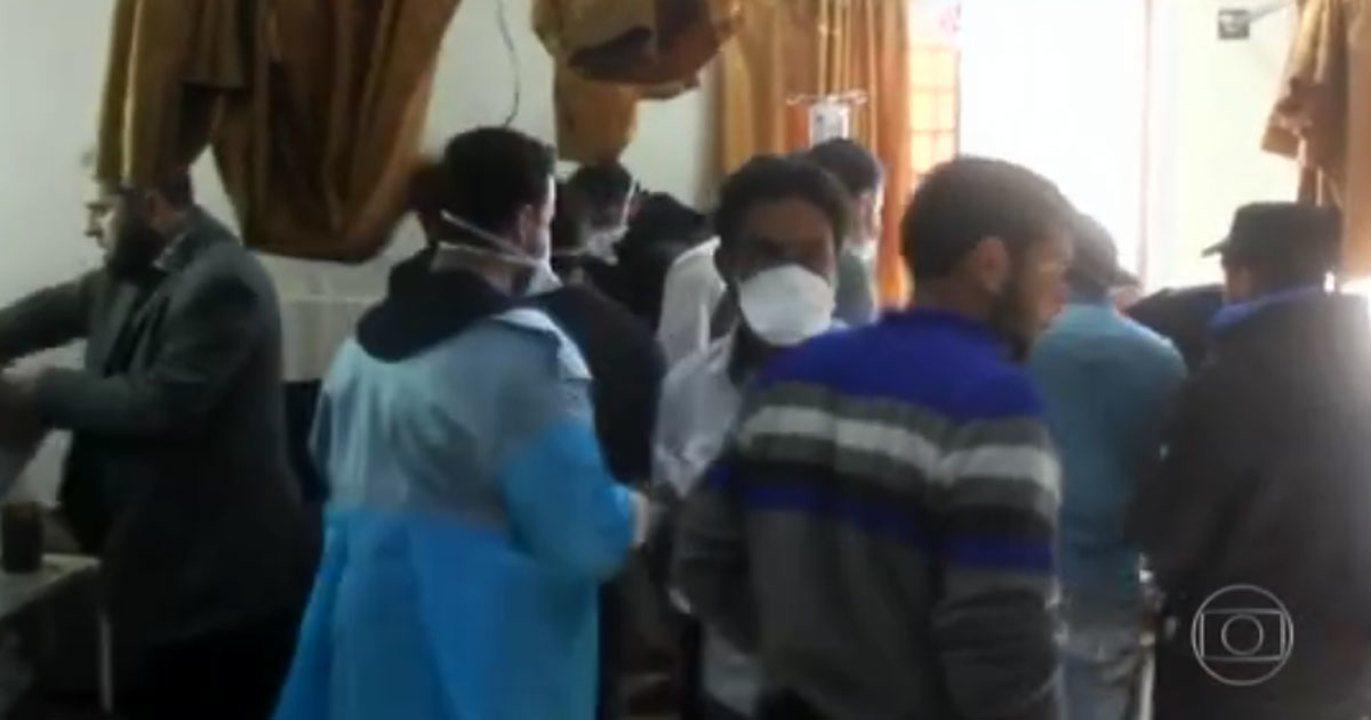 EUA acusam Síria de tramar novo ataque químico contra civis