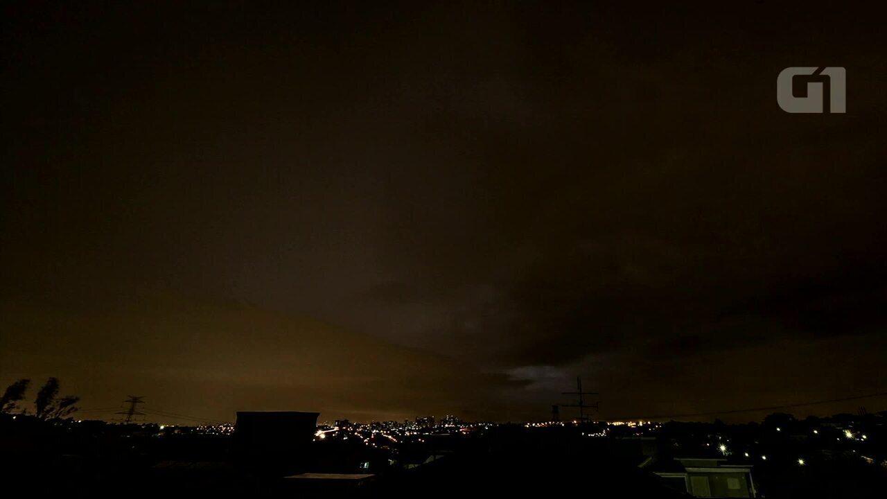 Empresário registra evento climático que impactou setor elétrico em Campinas (Vídeo: Rafael Coutinho/ELAT/Inpe)