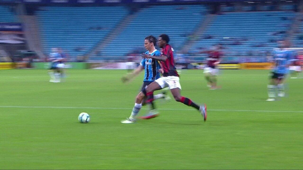 Melhores momentos de Grêmio 4 x 0 Atlético-PR pelas quartas de final da Copa d585293d57dab
