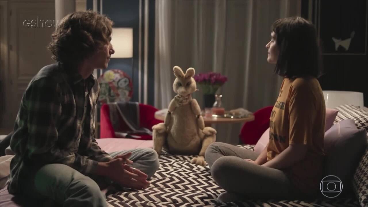 'Pega Pega': Valentina Herszage revela características de sua personagem Bebeth
