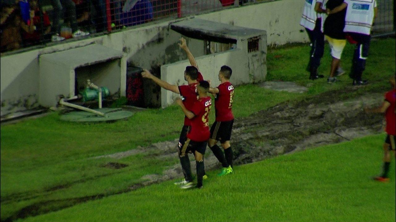 O gol de Sport 1 x 0 Atlético-PR pela 11ª rodada do Brasileirão