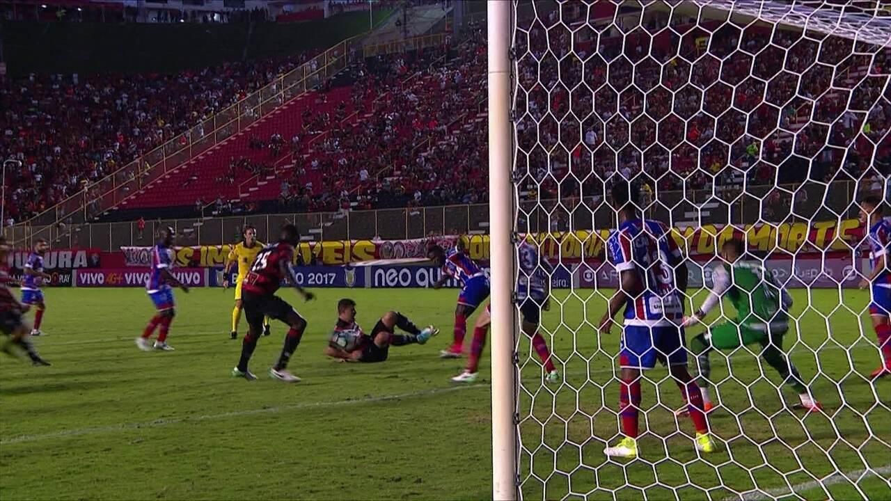 Melhores momentos: Vitória 0 x 0 Bahia pela 11ª rodada do Brasileirão