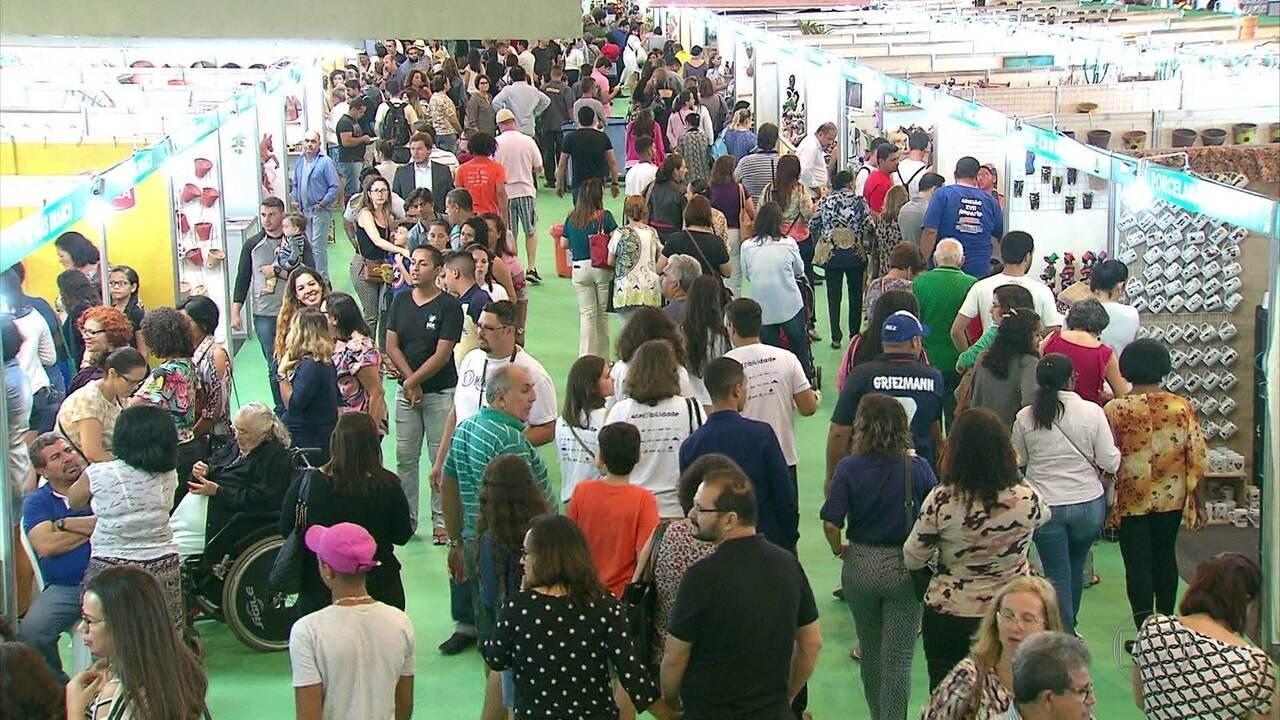 18ª edição da Feira Nacional de Negócios do Artesanato reúne mais de cinco mil expositores