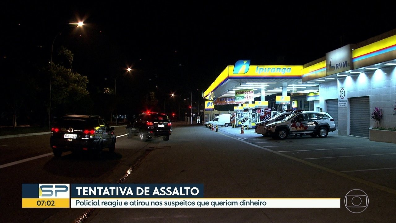Policial de folga reage a assalto e mata bandido em SP