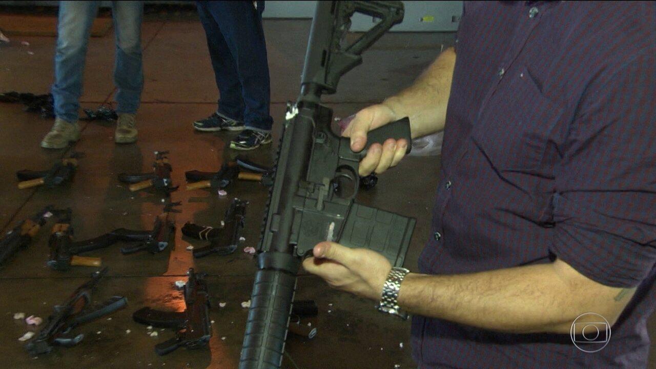 Bandidos usam fuzis cada vez mais em assaltos no estado do Rio