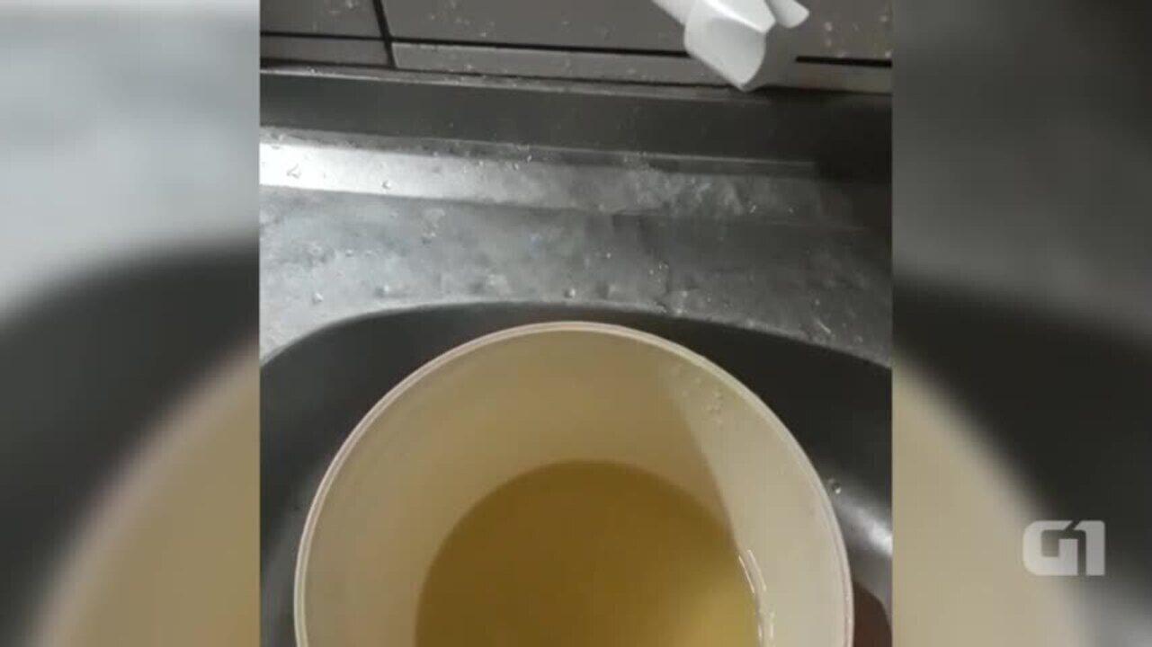 Curimatá estava recebendo água verde nas torneiras