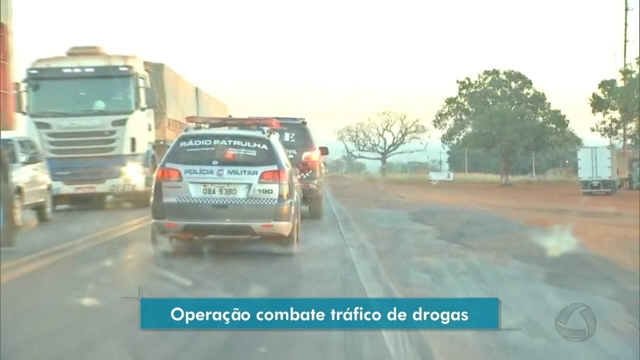 Polícia Civil deflagra operação para combater o tráfico de drogas no interior