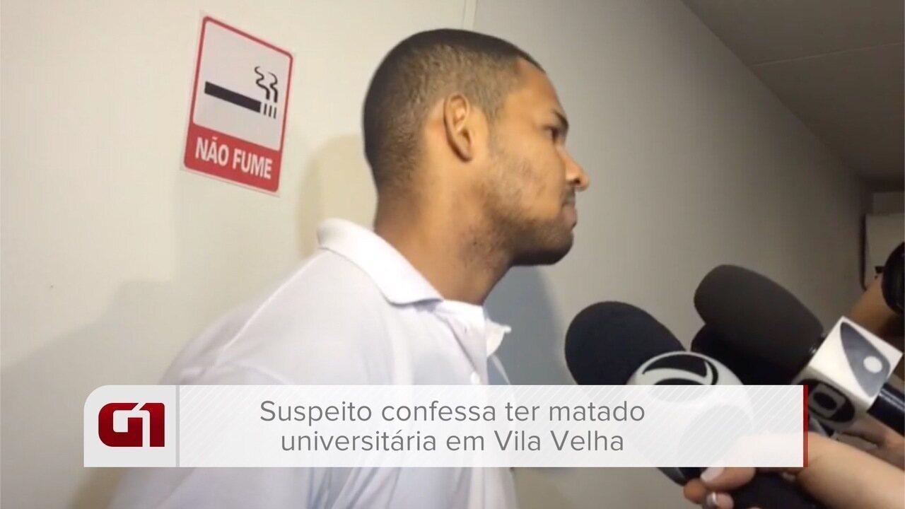 Suspeito confessa ter matado universitária em lavanderia em Vila Velha, no ES