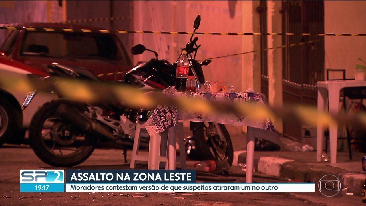Tentativa de assalto na Zona Leste termina com vítima baleada na cabeça e suspeito morto