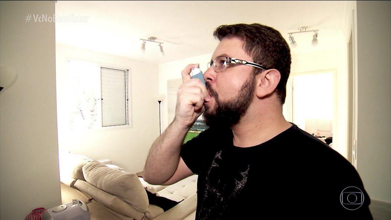 Combater a asma ajuda a proteger o coração e melhora a qualidade de vida