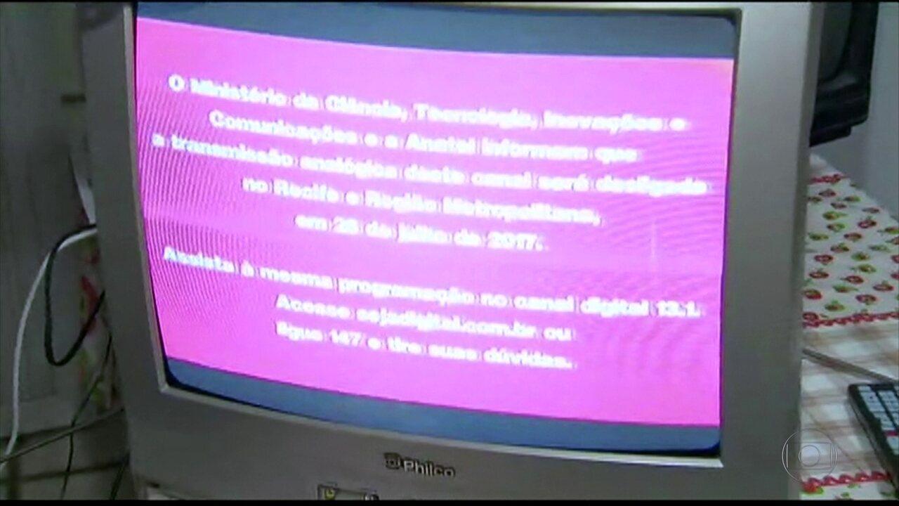 Com desligamento do sinal analógico, TVs antigas necessitam do conversor digital