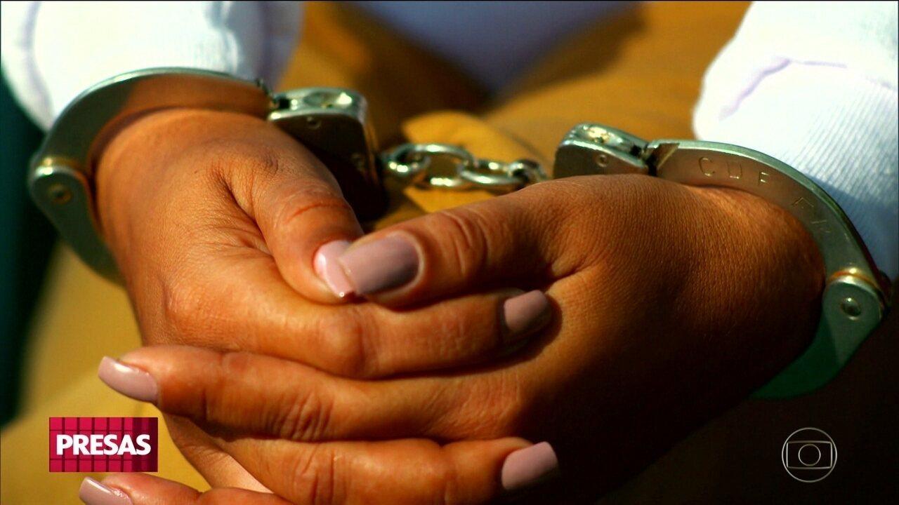 Tráfico de drogas tem levado milhares de mulheres para cadeia todos os anos