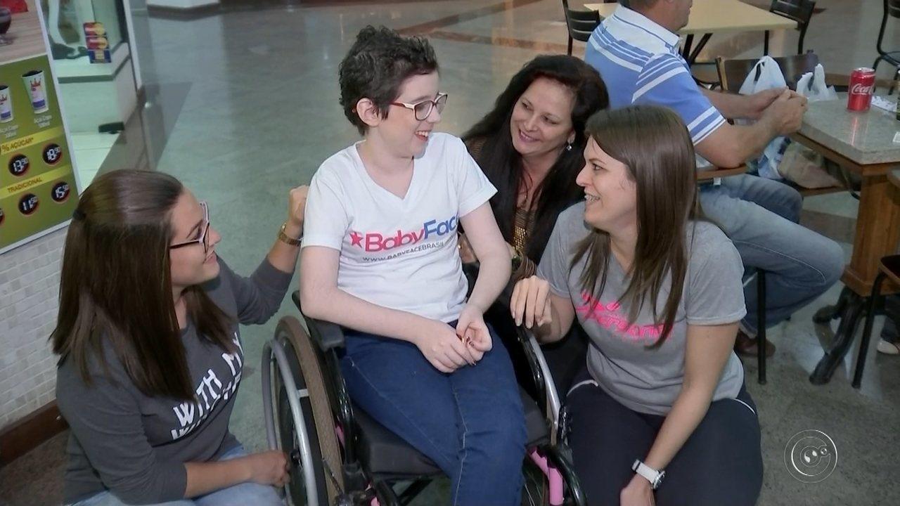 Lorena Reginato do Careca TV mostra novo visual após tratamento de câncer