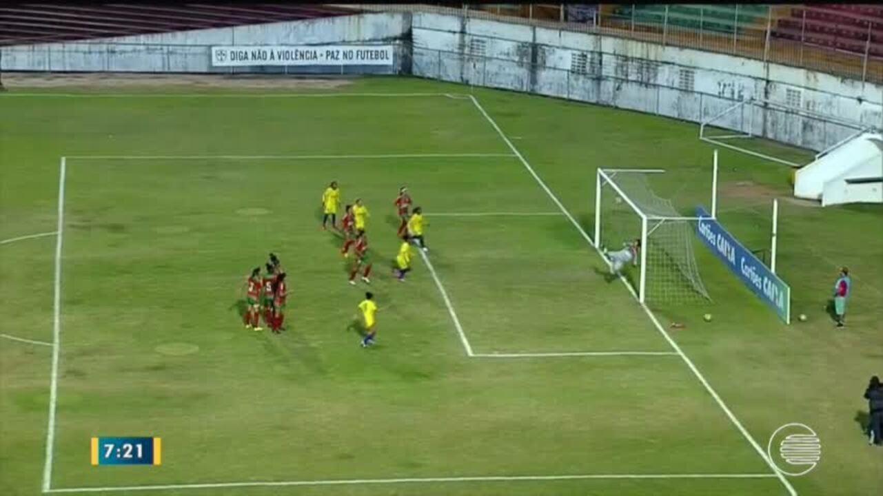 Tiradentes-PI perde para a Portuguesa-SP nas semifinais da Série A2 feminina em São Paulo