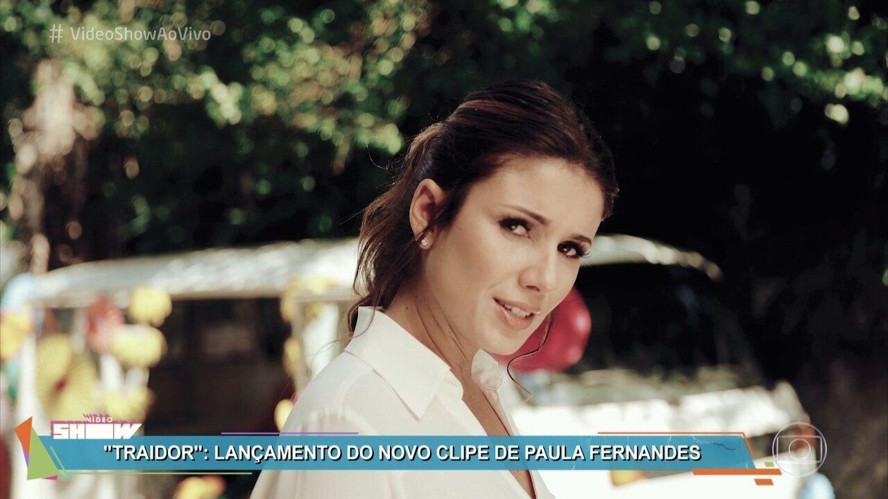 Paula Fernandes lança clipe de 'Traidor'