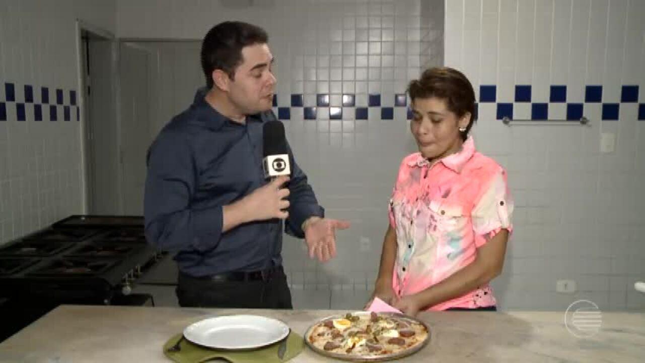 Aprenda como preparar a receita de pizza para as férias