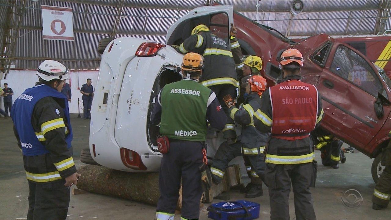 Corpo de Bombeiros realiza Desafio Nacional de Resgate Veicular