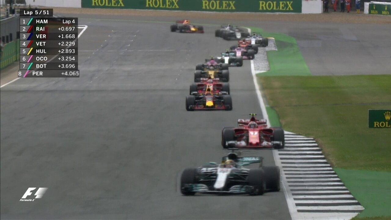 Confira os melhores momentos do GP da Inglaterra