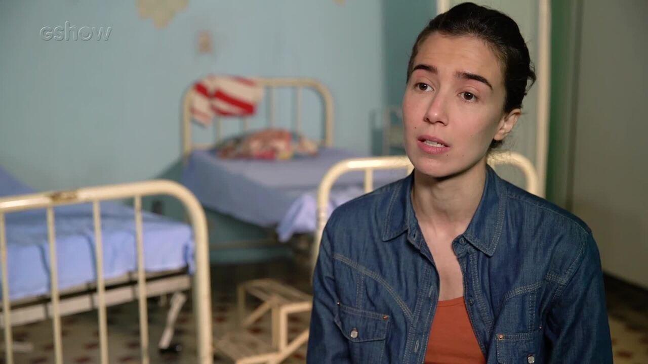 Marjorie Estiano conta detalhes sobre sua personagem na série 'Sob Pressão'