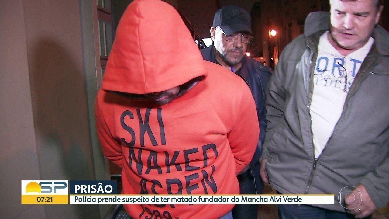 Suspeito de matar fundador da Macha Alvi Verde é preso em SP