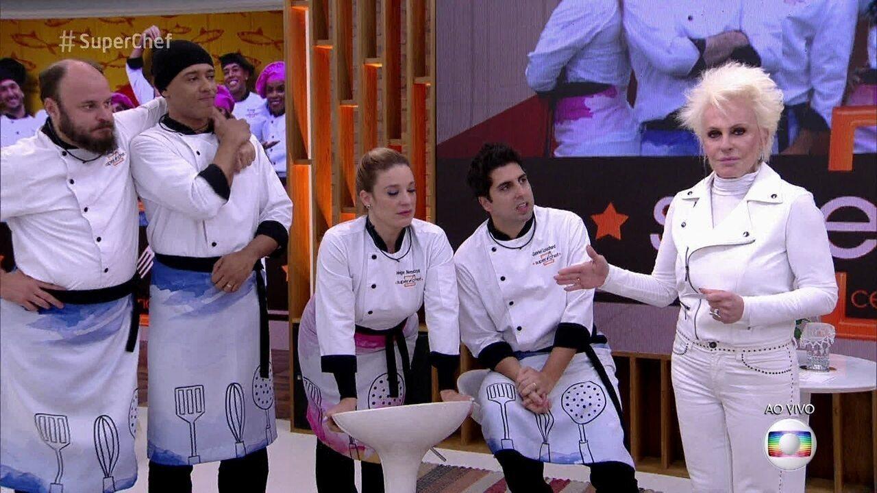 Ana Maria adianta como será a final do Super Chef Celebridades