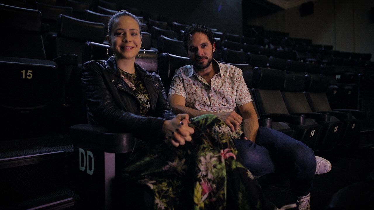 Leandra Leal e Manolo Cardona contam curiosidades sobre o filme 'Love Film Festival'  no Cine Odeon, no Rio de Janeiro