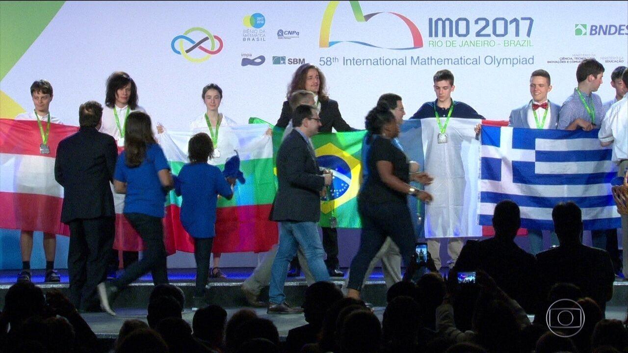 Brasil fica em 37º lugar na Olimpíada Internacional de Matemática