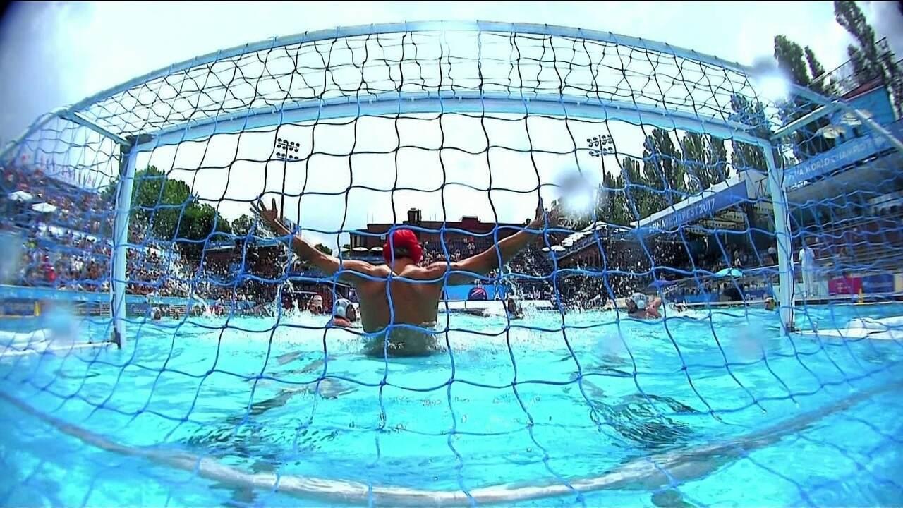 Melhores momentos de Brasil 3 x 8 Austrália nas oitavas de final de polo aquático