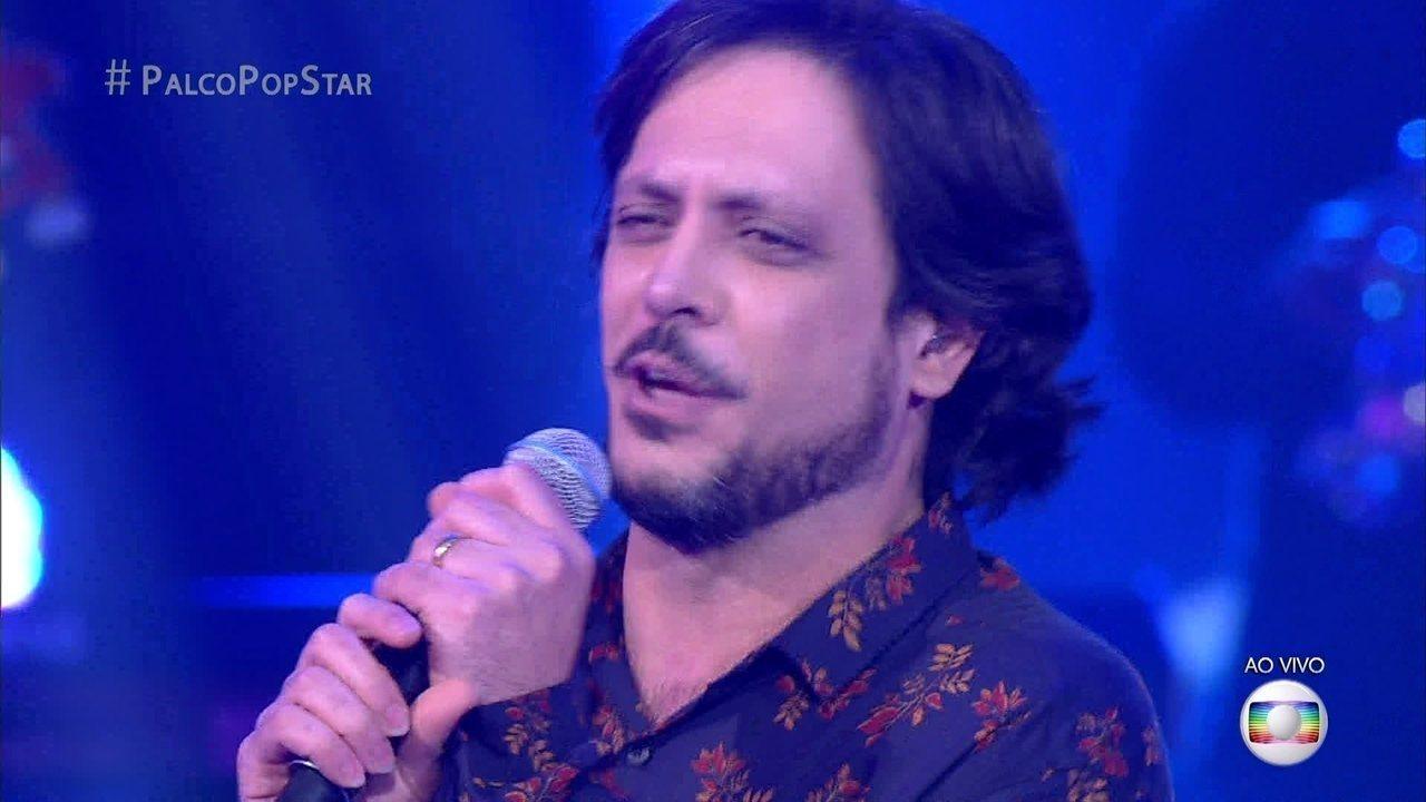 """Lucio Mauro Filho canta """"Não Vou Ficar"""" de Tim Maia"""
