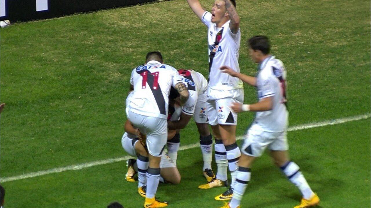 Os gols de Atlético-MG 1 x 2 Vasco pela 16ª rodada do Brasileirão