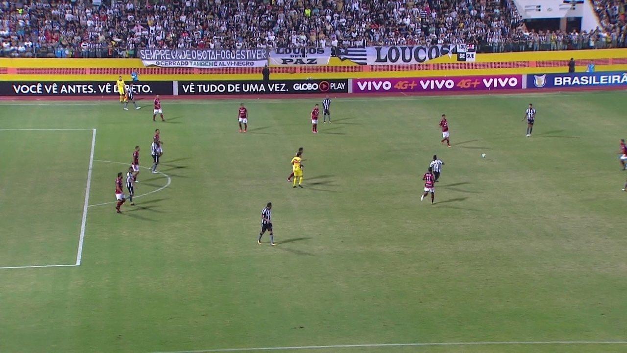 Melhores momentos de Atlético-GO 1 x 1 Botafogo pela 16ª rodada do Campeonato Brasileiro