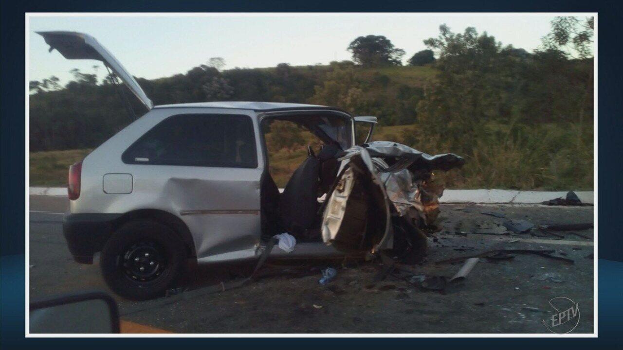 Duas pessoas morrem em acidentes em rodovias do Sul de Minas