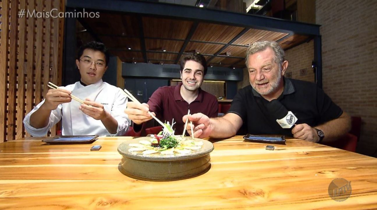 A culinária japonesa é destaque no quadro 'Segredos da Cozinha'