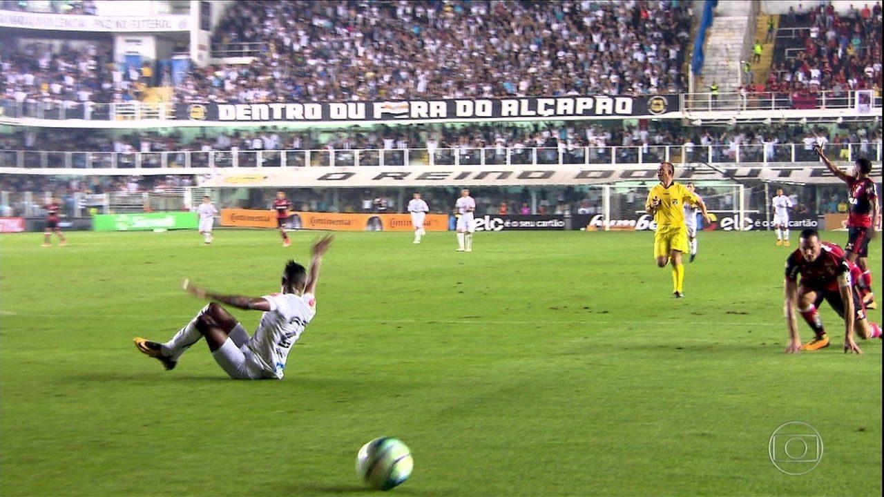 Santos pede anulação de partida contra o Flamengo  33cded2fa87d1