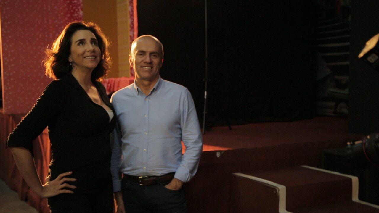Marisa Orth apresenta a escola Spectaculu