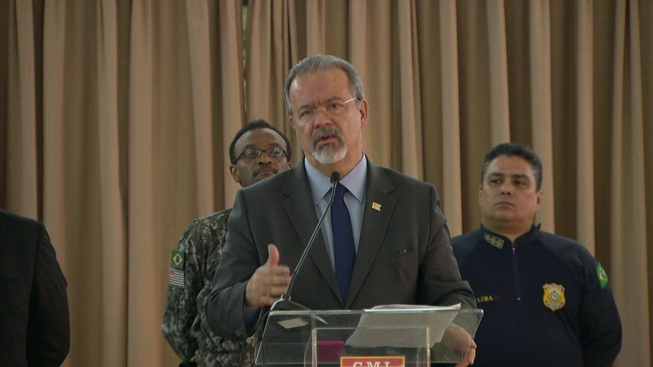 Ministro da Defesa fala sobre ações de curto prazo
