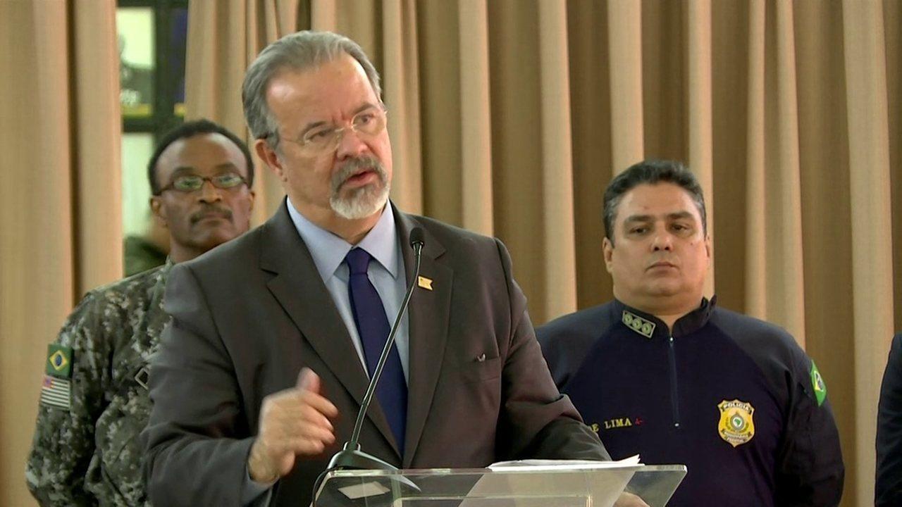 Jungmann diz que operação integra diversas forças com objetivo de golpear crime organizado