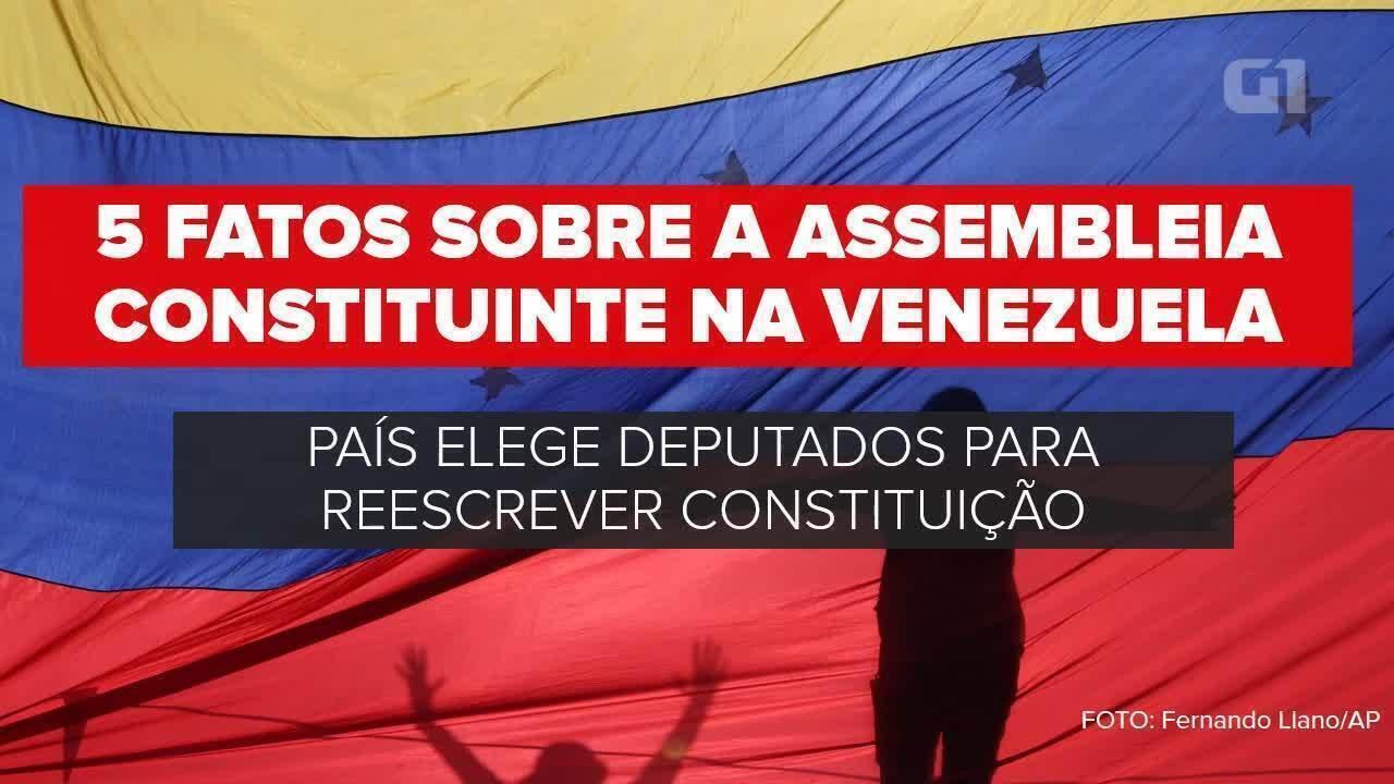 5 fatos sobre a Assembleia Constituinte na Venezuela