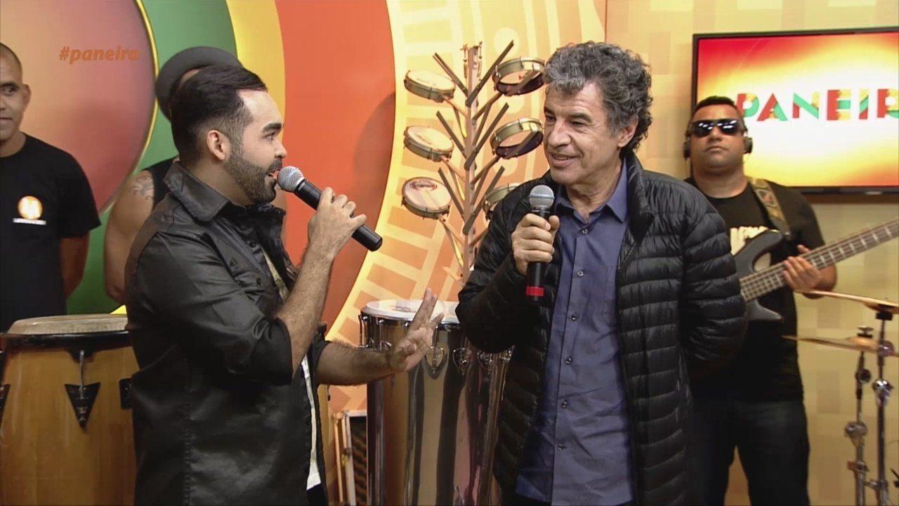 Oyama Filho bate-papo com ator Paulo Betti