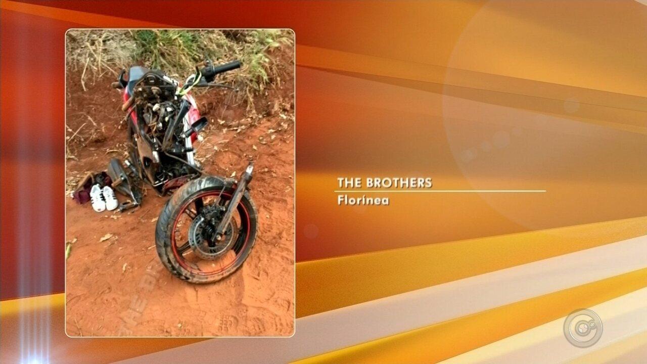 Motociclista morre após batida em caminhonete em rodovia de Florínea