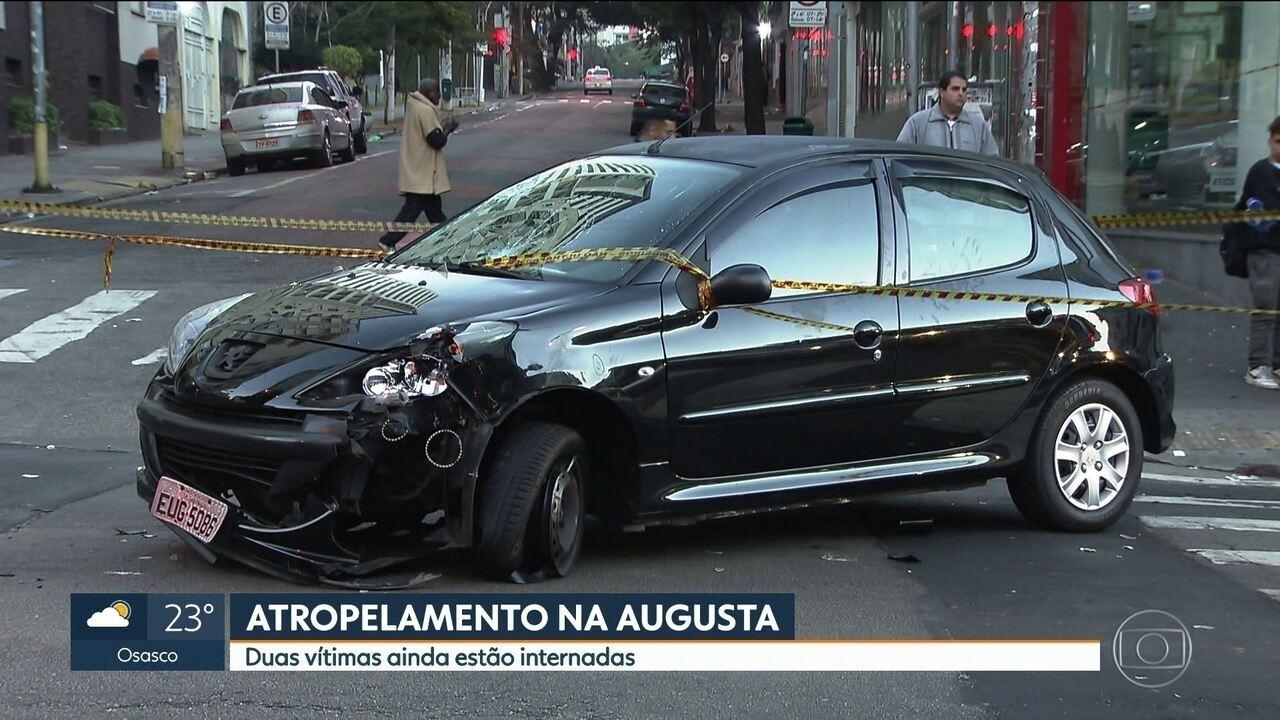 Jovem atropelado na Rua Augusta vai precisar passar por cirurgias para não perder o braço