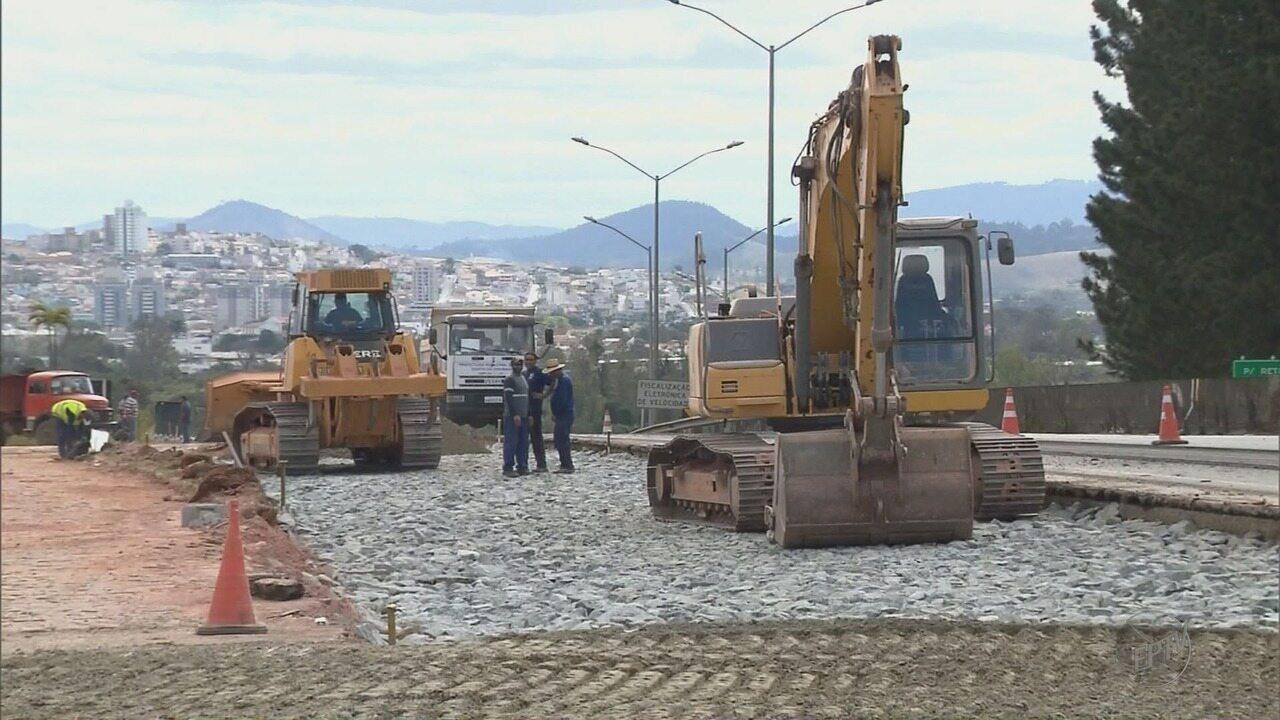 Dnit começa a revitalizar trechos de rodovias federais em cidades do Sul de MG