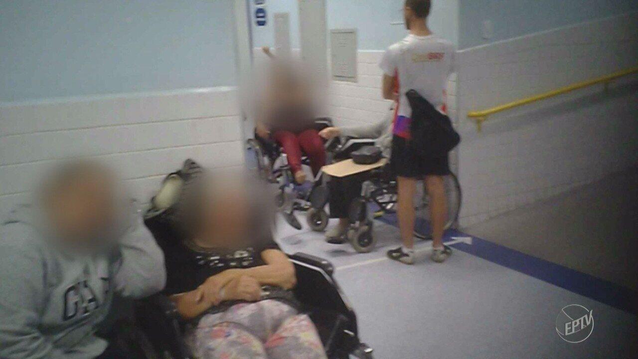 Pacientes do Pronto Socorro do Hospital Mário Gatti enfrentam dificuldades no atendimento