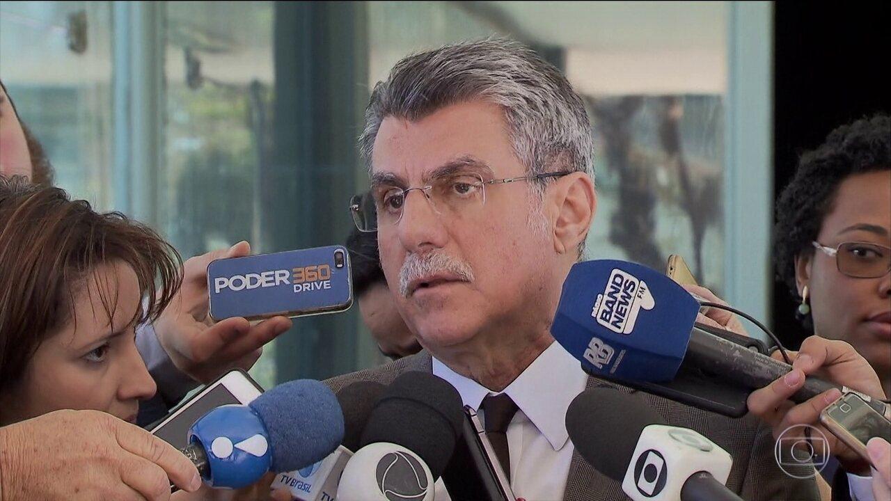 Romero Jucá diz que o PMDB decidiu fechar questão pela rejeição da denúncia